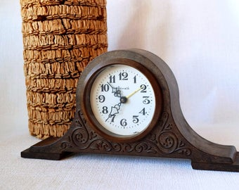vintage watch vintage Wall Clock Oil painting by ...