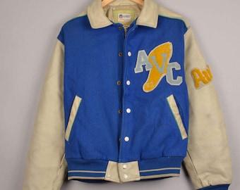 vintage avirex baseball jacket, avc varsity, oorang indians football team jacket, vintage bomber jacket ,vintage varsity jacket