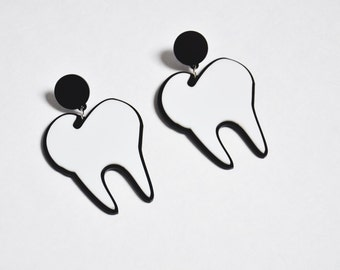 Big Tooth Earrings