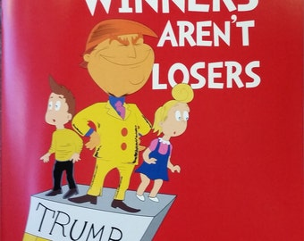 coloring book winners arent losers donald trump childrens book