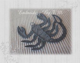 Scorpio FSL- 4x4 hoop -Free standing lace