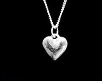Puffed Heart Pendant