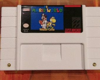 Dr. Mario World: House Calls - Super Nintendo SNES - Repro English