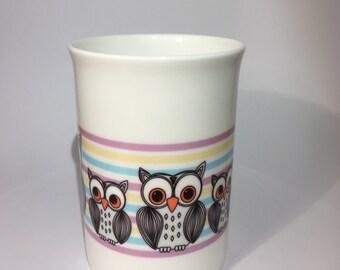 Owl Bone China Mug - Owl Gift