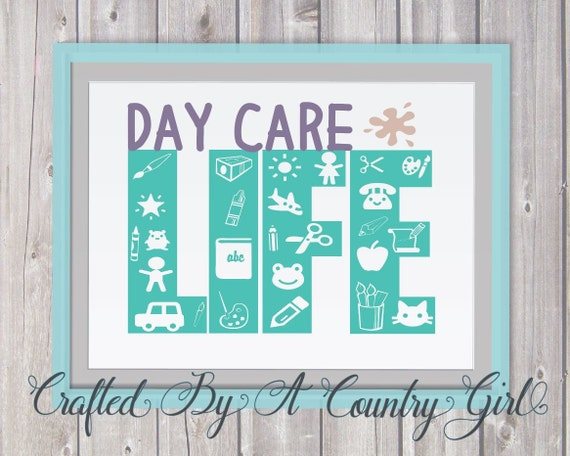 Day Care Life Svg Vinyl Cut File Life Design Htv 651