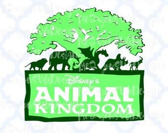 Animal Kingdom Logo SVG,EPS,PNG,Studio