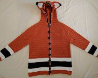 Hooded fox sweater (adult)