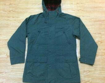 Vintage LL Bean Mountain Parka Wool Jacket .