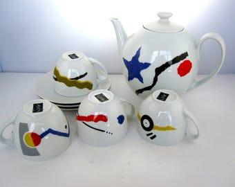 Coffee/tea Axis Paris - Design Juma - 80s