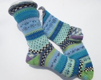 Pattern socks Malan Gr. 39 / 40