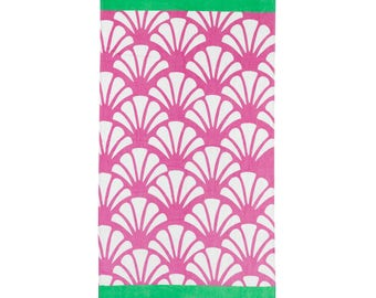 Shelly Collection Monogrammed Beach Towel
