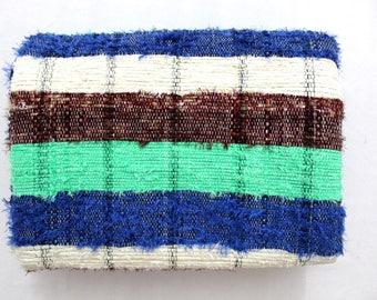 Handmade Hand woven Chindi Area Rugs Rectangular Carpet Durrie Recycled Bohemian Beach Garden Yoga Mat Indian Floor Kilim Counterpane I633