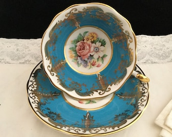 Paragon By Appointment to Her Majesty the Queen Fine Bone China Kingston Tea Cup and Saucer