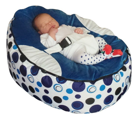 Pre Filled Baby Bean Bag With 2 Removable Covers Amp Safety