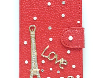 iPhone 7 Case / iPhone 7 Plus iPhone SE iPhone 6 Plus iPhone 6S Plus iPhone 6 iPhone 6S iPhone 5 iPhone 5S Love Eiffel Tower W02