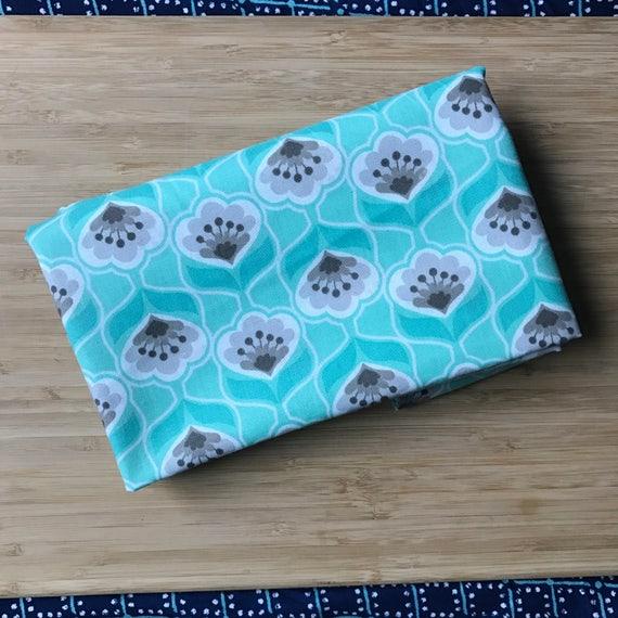 Furoshiki Gift Wrapping Cloth - Japanese Cotton Furoshiki - Peacock Design by Kendo Girl