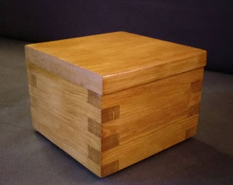 Handmade Wooden trinket box