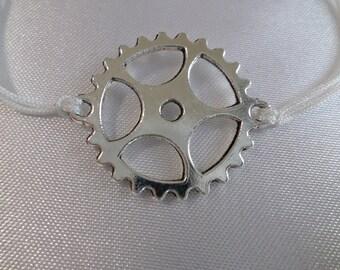 Steampunk bracelet - gear