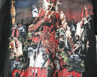 Vintage cannibal corpse Band Shirt