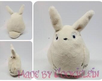 Totoro plush white