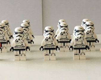 Star Wars Lego Minifigures Clone Troop Army Imperial Jet Pack Platoon LEGO® Birthday Gift Husband Son Birthday lego minifig toys