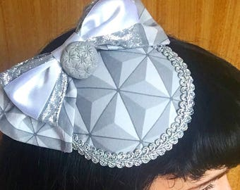 Spaceshipearth inspired fascinator