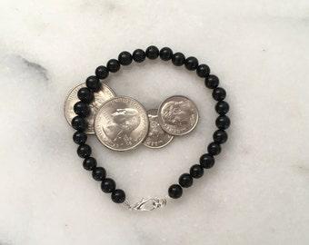 Men's Obsidian Bracelet (Men's Collection)