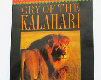 Cry of the Kalahari Paperback Book by Mark and Delia Owens