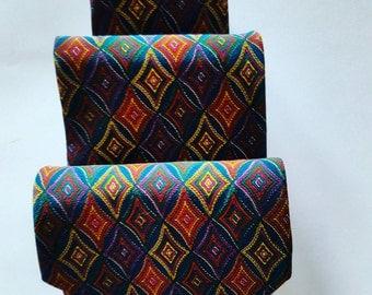 Lucien Solari vintage tie