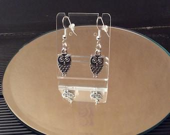 Mini owl earrings