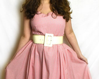 Size 16 Vintage style gingham dress