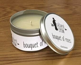 Bouquet of Roses Soy Candle