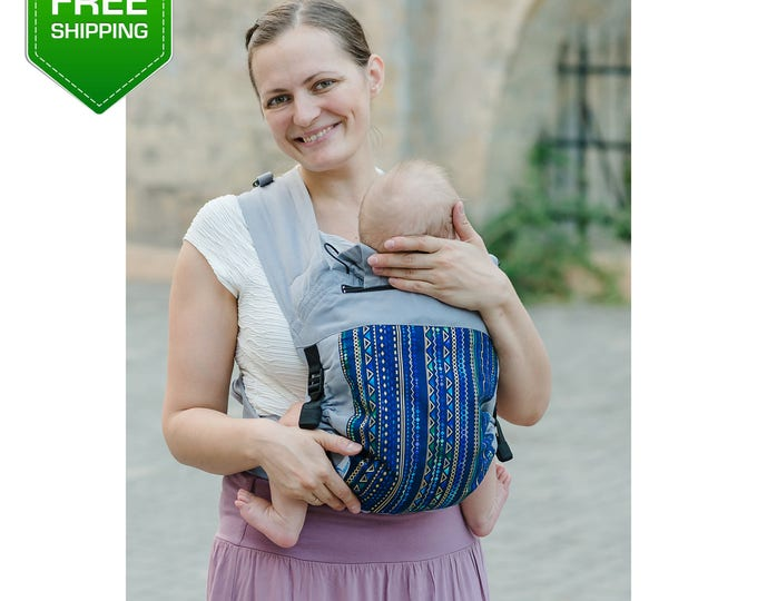 Adjustable Mei Tai. Baby Carrier Wrap, Mei Tai Baby Carrier, Toddler Carrier, Baby Carrier, Infant Carrier. Free shipping