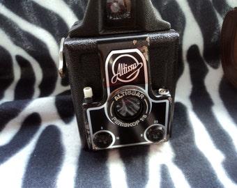Unique Vintage Germany Camera Altissa Collectible Camera Vintage Camera Made in Germany Retro Camera Original Case Altissar Periscpe 1:8