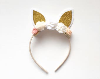 Bunny Ears Floral Crown