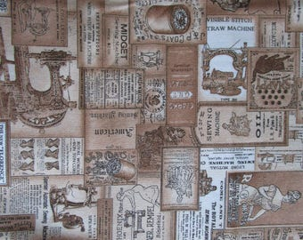 Patchwork Fabric Seams Like old times by Dan Morris