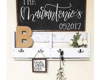 Custom name sign, wedding gift, custom wedding gift, anniversary gift, engagement gift, wooden sign, custom sign, last name,
