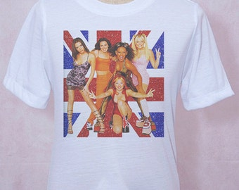 Spice Girls T-Shirt Style Rocker Unisex S M L XL