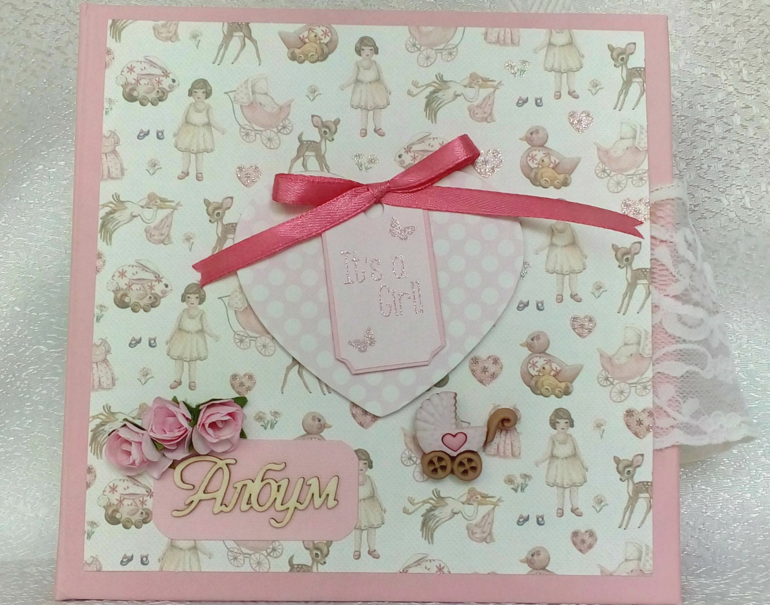 How to scrapbook baby book - Sold By Kalibart