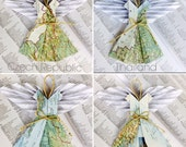 Private Listing for Tracey - Final Payment for 16 Custom Order Map Angels