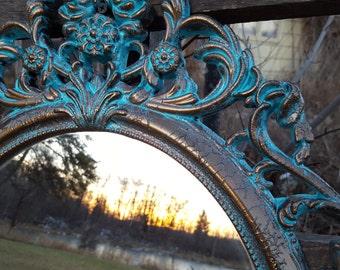 Bathroom Mirrors Zimbabwe ornate mirror | etsy