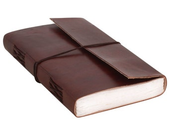 Gusti leather 'Sophia' book notebook diary
