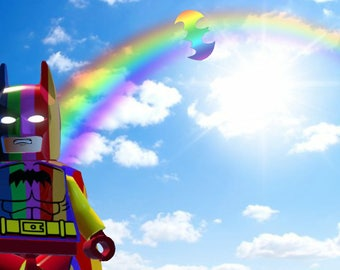 Lego Photography - Rainbow Batman
