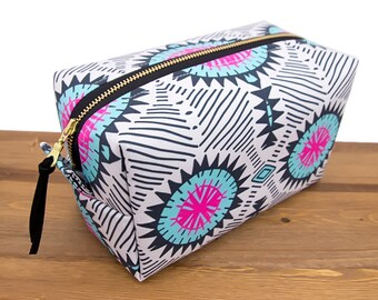 Bridesmaid Gift Bag - Cosmetic Bag - Make Up Bag - Makeup Bag - Gift for Woman - Birthday Gift for Her - Makeup Pouch - Large Travel Bag #63