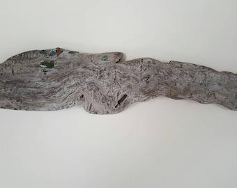 Poisson d'écorce bois flotté