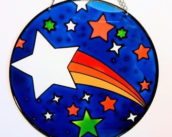 Shooting Star Suncatcher