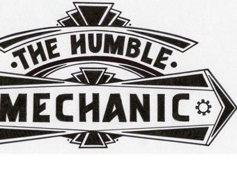 "Humble Mechanic 8"" sticker."