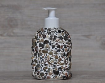 SOAP dispenser - Baltic Sea beach with soap