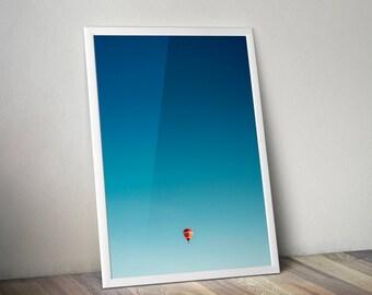 Wall Art Print. Balloon