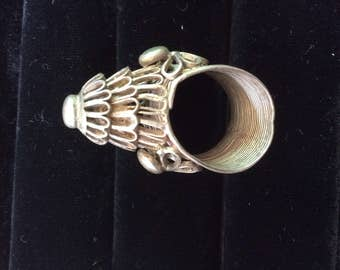 Ring Hill tribe silver filagree